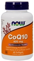 NOW COQ10 400mg, 60 Gels