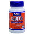 NOW COQ10 100mg, 50 Softgels