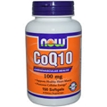 NOW COQ10 100mg, 150 Gels