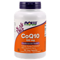 NOW COQ10 100mg, 180 Vcaps