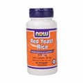 NOW Red Yeast Rice with COQ10, 600mg, 60 caps