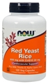 NOW Red Yeast Rice with COQ10, 600mg,  120caps