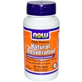 NOW Resveratrol, 50 mg, 60 Vcaps