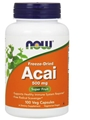 Now Acai, 500mg, 100 Vcaps