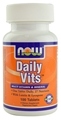 NOW Daily Vits Multi, 100 tabs