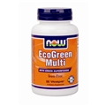 NOW EcoGreen Multi, 90 Vcaps, Iron Free