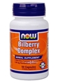 NOW Bilberry Complex, 80mg, 50caps