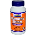 NOW Elderberry Extract, 500mg, 60 caps