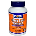 NOW Olive Leaf Extract, 500mg, 6%, 120 caps