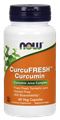 Now - CurcuFRESH™ Curcumin - 60 Caps