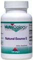 Nutricology  Natural Source E  120 Softgels