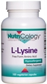 Nutricology  L-Lysine 500 Mg  100 Vegetarian Caps