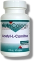 Nutricology  Acetyl-L-Carnitine 250 mg  60 Vegetarian Capsules