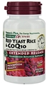 Red Yeast Rice 600 mg CoQ10 100 mg Extended Release - 30 Tablets