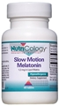 Nutricology  Slow Motion Melatonin 1.2 mg in Lipid Matrix  60 Tablets