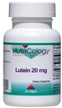 Nutricology  Lutein 20 Mg  60 Softgels