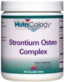 Nutricology  Strontium Osteo Complex Chewable  180 tabs