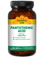 Country Life  Pantothenic Acid 500 mg  60 Tabs