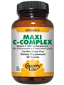 Country Life  Maxi-C Complex Vitamin C 1000 mg Time Release  180 Tabs