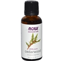 NOW Cedarwood Oil, 1oz, 100% Pure
