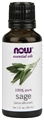 NOW Sage Oil, 1oz, 100% Pure