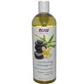 NOW Comforting Massage Oil, 16 oz