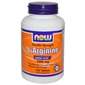 NOW L-Arginine, 1000mg, 120 tabs