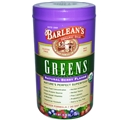 Barleans Natural Berry Flavor Greens, 8.78 oz