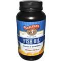 Barleans Fish Oil, 250 Softgels, 1000mg