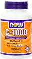 NOW C-1000 Complex, 90 tabs, with 250mg Bioflavonoids