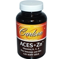 Carlson Labs ACES + Zn, 120 Softgels