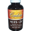 Carlson Labs ACES + Zn, 360 Softgels