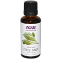 NOW Clary Sage Oil, 1oz, 100% Pure