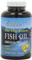 Carlson Labs The Very Finest Fish Oil, 120 gels, Lemon
