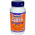 NOW COQ10 50mg, 100 Gels