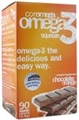 Coromega Omega-3, 90 Packets, Chocolate Orange Flavor