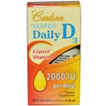 Carlson Labs Super Daily D-3 2,000 IU, 365 Drops