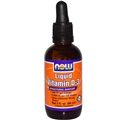 NOW Vitamin D-3 Liquid - 2 oz.