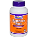 NOW Dandelion Root, 500mg, 100 caps