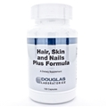 Douglas Labs  Hair, Skin and Nails Plus Formula  100 Caps