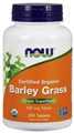 NOW Barley Grass, 500mg, 250 tabs, Organic