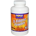 NOW D-Ribose Powder, 8oz
