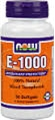 NOW Vitamin E 1000 IU, 50 softgels, Mixed Tocopherols