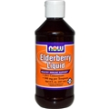 NOW Elderberry Liquid, 8 floz