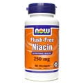 NOW Flush-Free Niacin, 250mg, 90 Vcaps