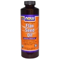 NOW Flax Seed Oil, Organic, 12 oz