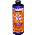 NOW Flax Seed Oil, Organic, 24oz