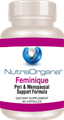 Feminique  by  NutraOrgana   90 Count