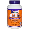 NOW GABA Powder, 6 oz Pure Powder