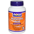 NOW Hyaluronic Acid, 100mg, 120 caps